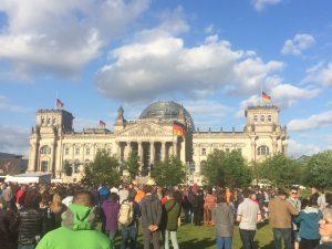 Eröffnungsgottesdienst am Reichstag