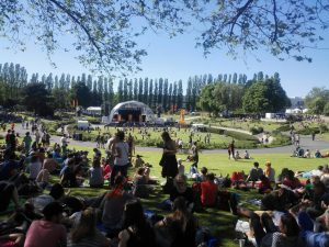 Sommergarten auf dem Kirchentag