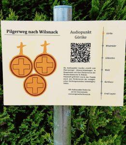 Audiopunkte am Pilgerweg - Görike bis Groß Leppin